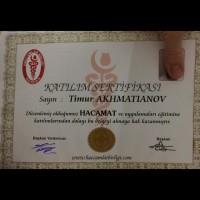 Сертификаты Хиджама Тимур