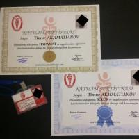 Сертификаты Хиджама Турция